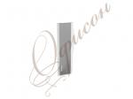Дверь стекло (алюм.рамка) К-980