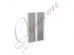 Дверь стекло (алюм.рамка) К-981