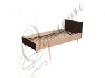 Кровать односпальная с изголовьем, ортоп.основание Т401