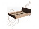 Кровать двуспальная с изголовьем, ортоп.основание Т405