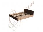Кровать двуспальная с изголовьем, ортоп.основание Т403